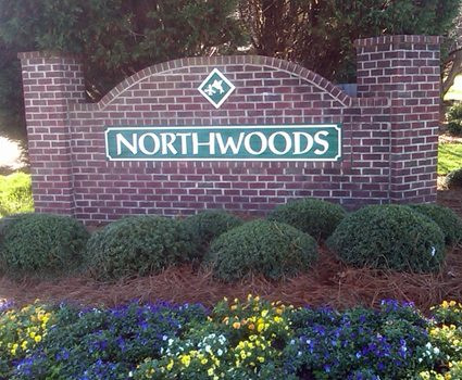 1203 Northwoods Drive, Kings Mountain NC 28086, Bungalow Home for Sale Backing onto Wooded Area