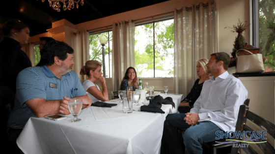 SHOWCASE REALTY HOSTS TEAM-BUILDING AGENT LUNCHEON