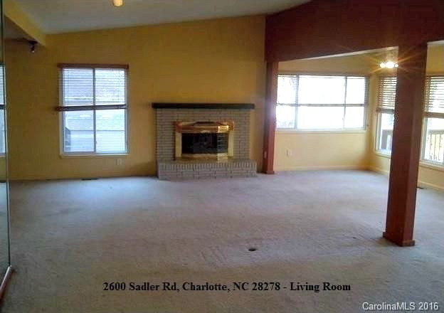 2600 Sadler Road, Charlotte NC 28278, Waterfront Home for Sale in Mecklenburg County NC, NC Realtor, Showcase Realty