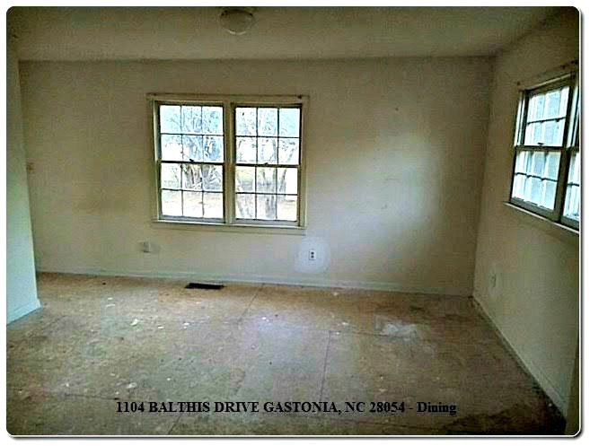 Home for Sale in Gastonia NC,1104 Balthis Drive Gastonia NC 28054, Showcase Realty, NC Realtors